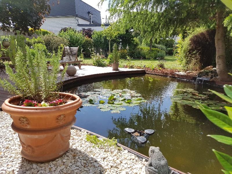 Installation de bassins et étangs Tournai - paysagiste Orcq